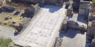 «Πτήση» με drone στα Ίσθμια ανακαλύπτει εκπληκτικό ρωμαϊκό λουτρό (VIDEO)