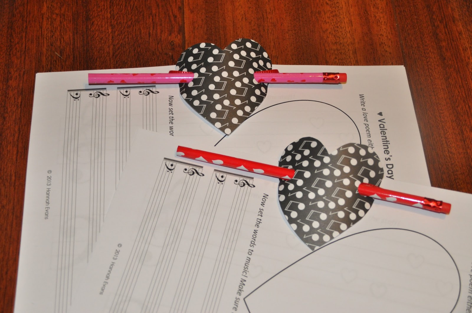 Sew Lah Tea Dough Valentine S Day Piano Worksheets