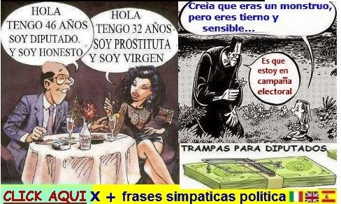 http://frasidivertenti7.blogspot.it/2014/10/politica-frases-simpaticas.html