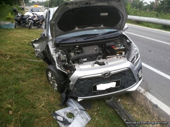 Cara tuntutan kemalangan kereta