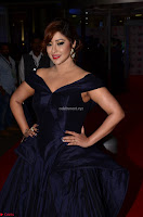Payal Ghosh aka Harika in Dark Blue Deep Neck Sleeveless Gown at 64th Jio Filmfare Awards South 2017 ~  Exclusive 003.JPG