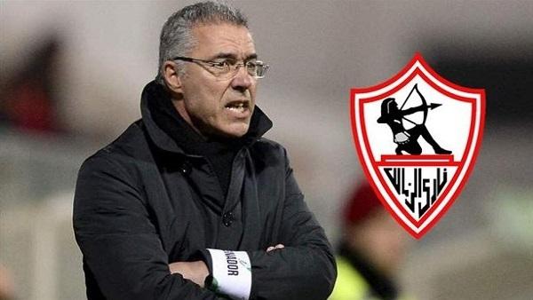 مرتضي منصور يعلن وصول البرتغالي أوجستو إيناسيو امس لتدريب نادي الزمالك