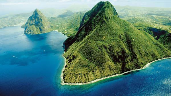 st lucia pitons map Map Your Own Life Experience The World A Cruise To Saint Lucia In The Caribbean st lucia pitons map