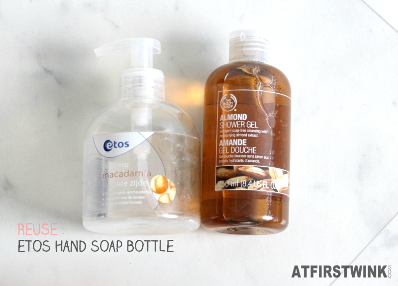 Etos hand soap macadamia & pure silk the body shop almond shower gel