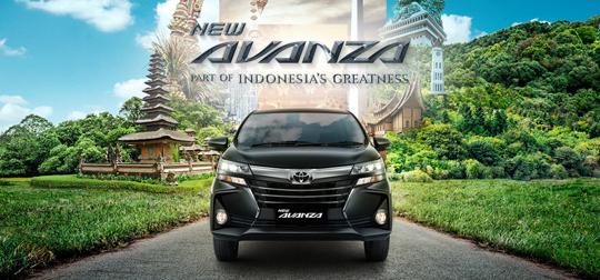 Harga Toyota Avanza di Jakarta Tangerang Depok Bekasi Bogor Serang 2019
