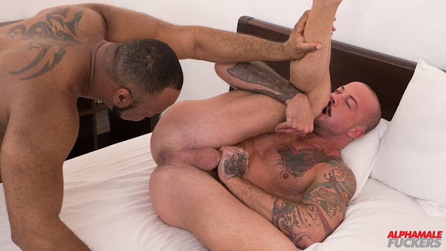 Alpha Male Fuckers - Ray Diesel and Sean Duran