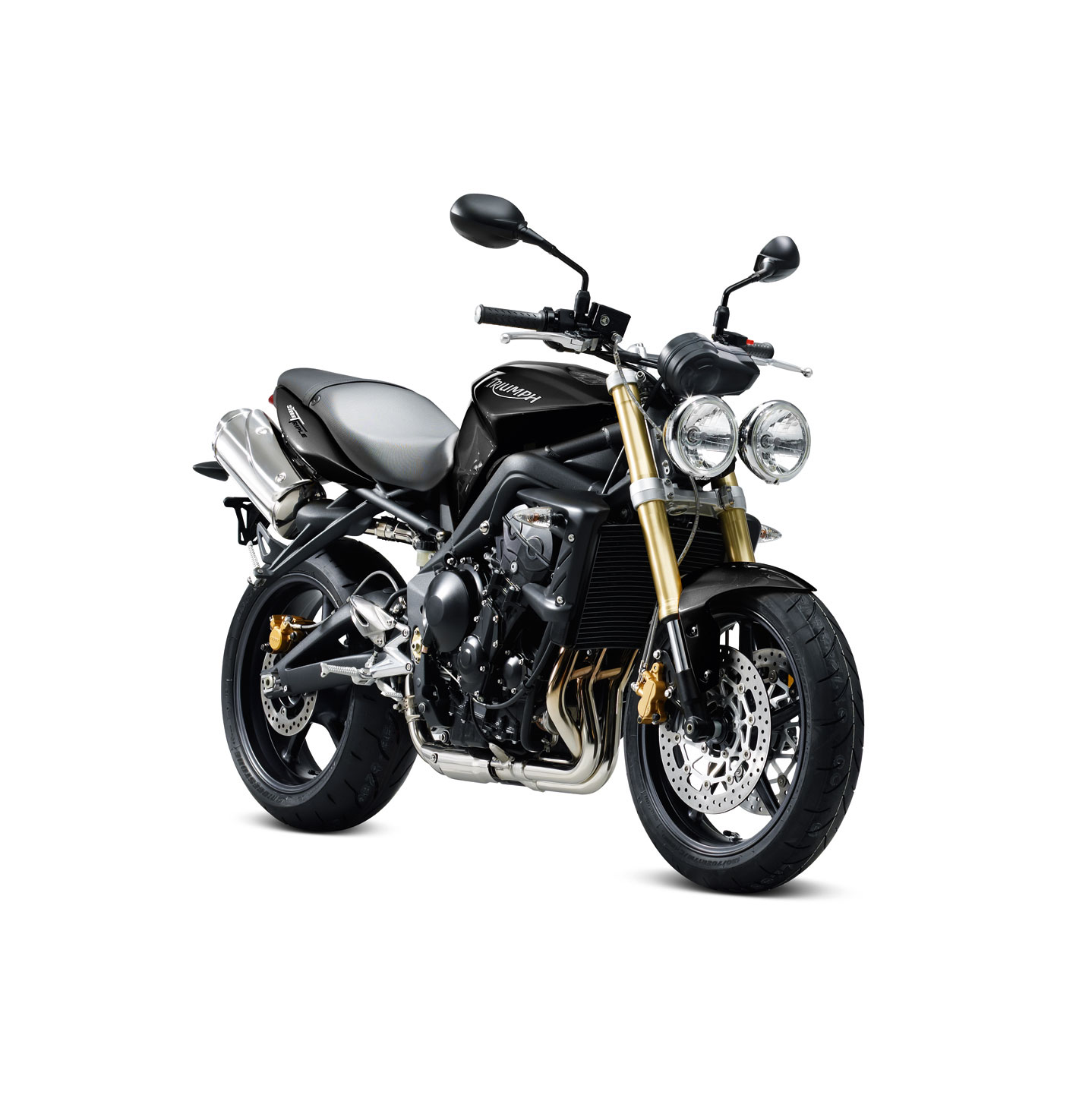 Motorcycle Pictures: Triumph Street Triple 2011
