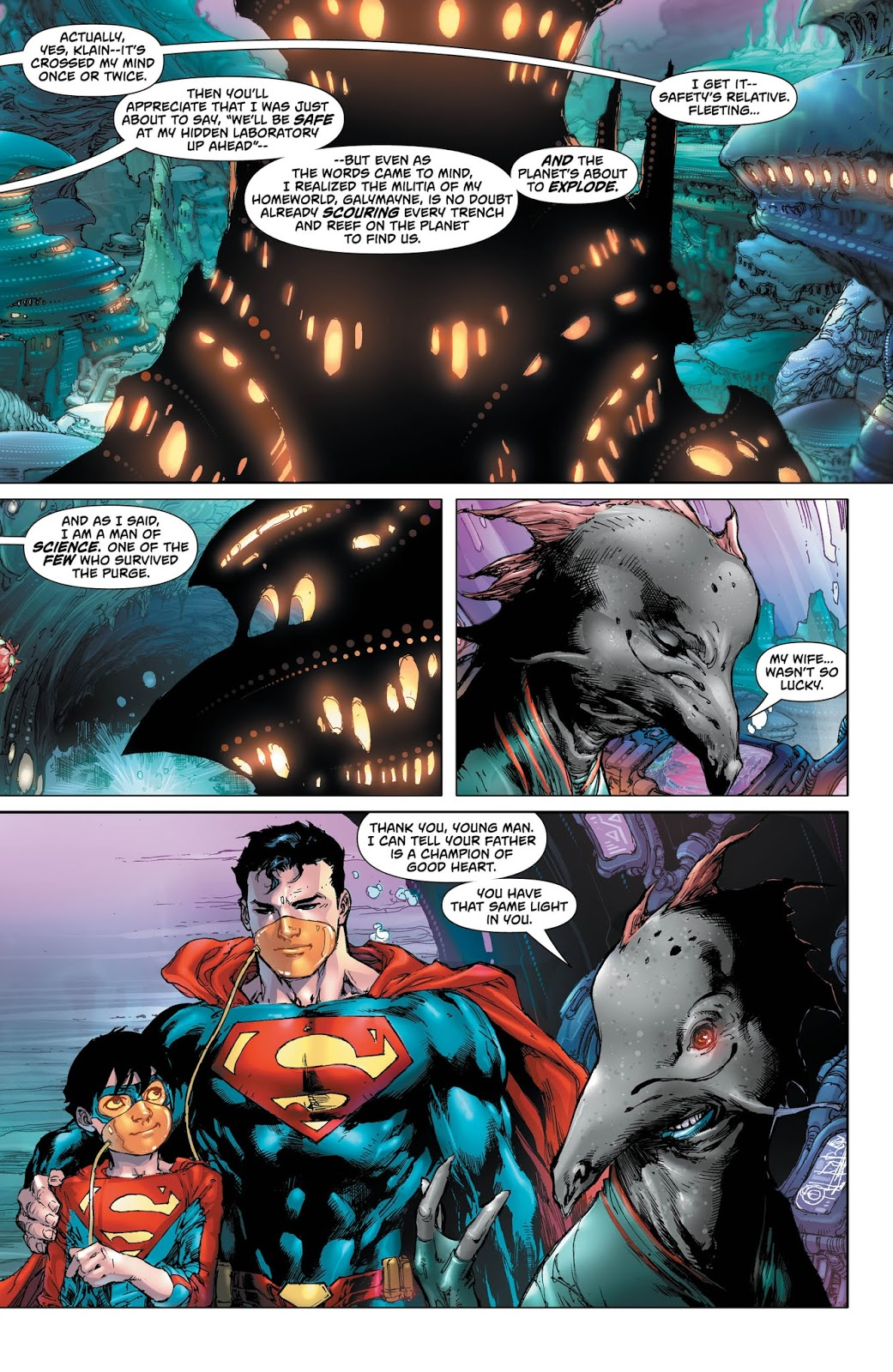 Weird Science DC Comics: Superman #41 Review and *SPOILERS* on