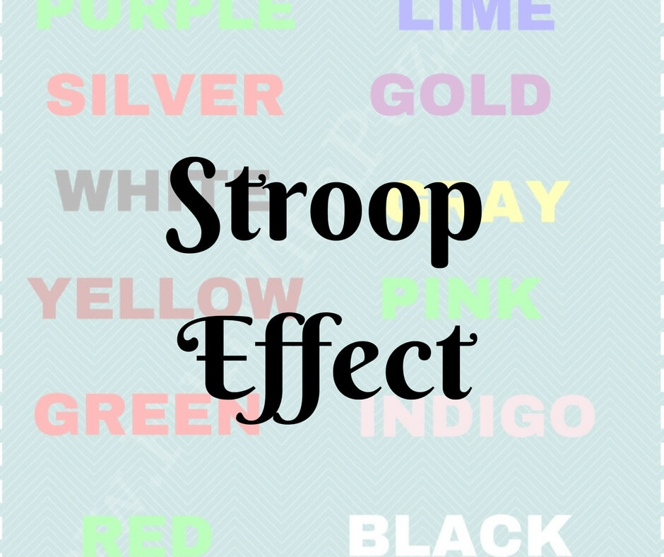 era stroop effect The emotional stroop effect denotes slower responses to the colour of negative words (eg, death) compared to neutral words (eg, mug) popular explanations assume.