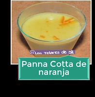 PANNA COTTA DE NARANJA
