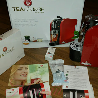 TeaLounge ausgepackt