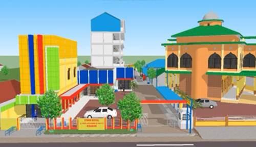 Desain 3D Kampus STMIK ROYAL Kisaran