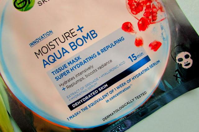 Maseczka Moisture + Aqua Bomb
