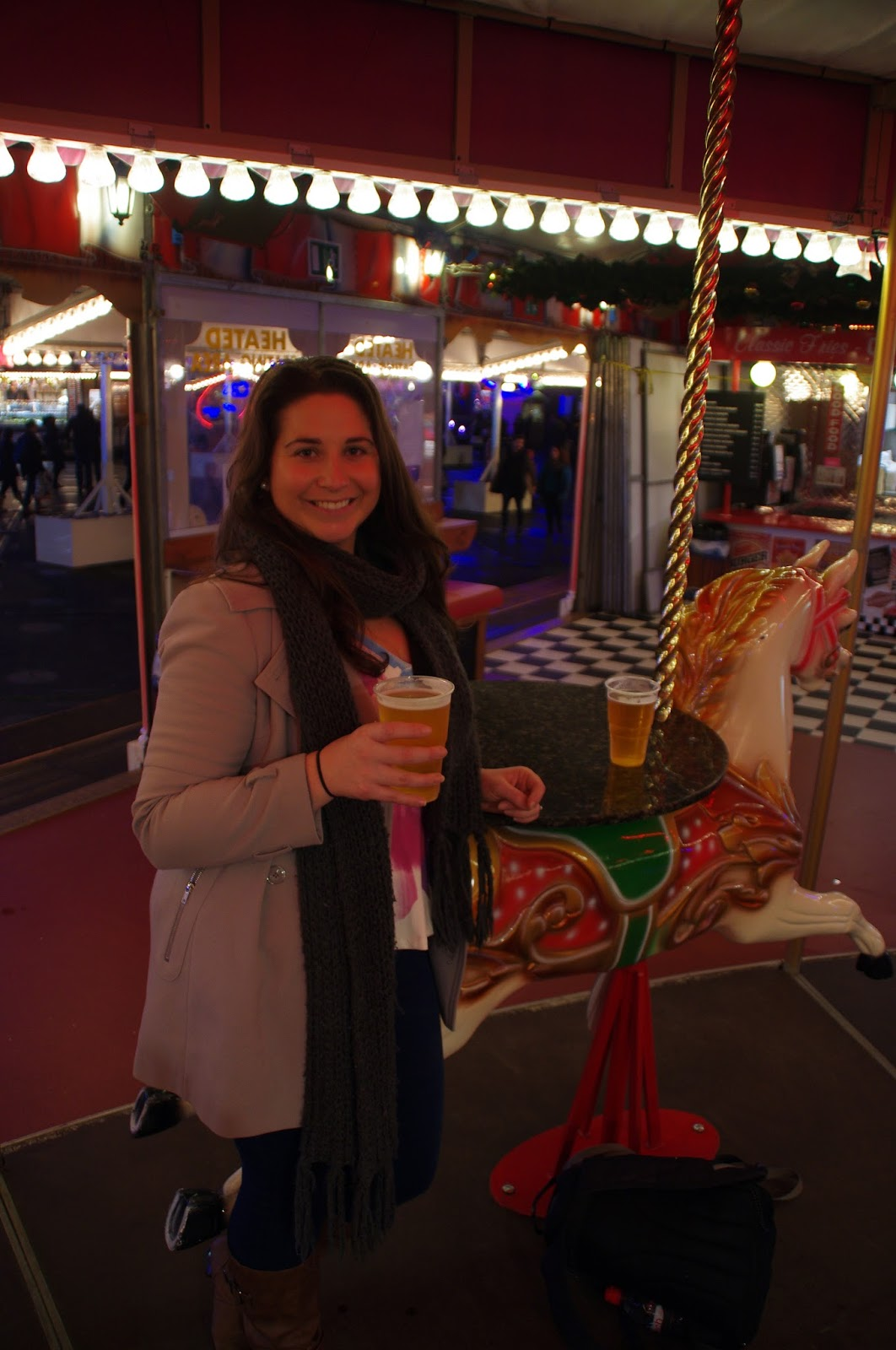 Winter Wonderland Hyde Park Carousel Bar