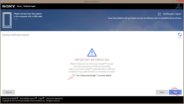 Cara mudah Flash semua Sony Xperia secara online dengan Xperia Companion Cara mudah Flash semua Sony Xperia secara online dengan Xperia Companion