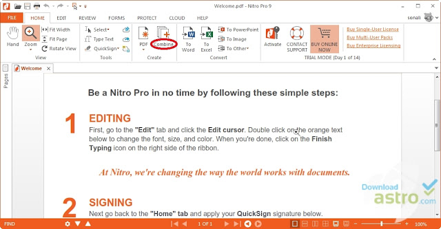 Nitro PDF Reader free download latest version 32bit and 64bit