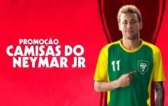 Promoção Café Pilão Camisas Oficiais Neymar Jr. Quatro Modelos Oficiais