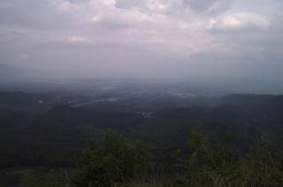 Pusat Kota dilihat dari Gunung Galunggung