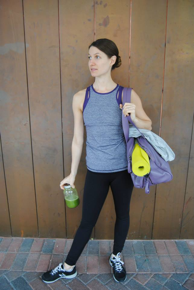 lululemon inspiration tank grape