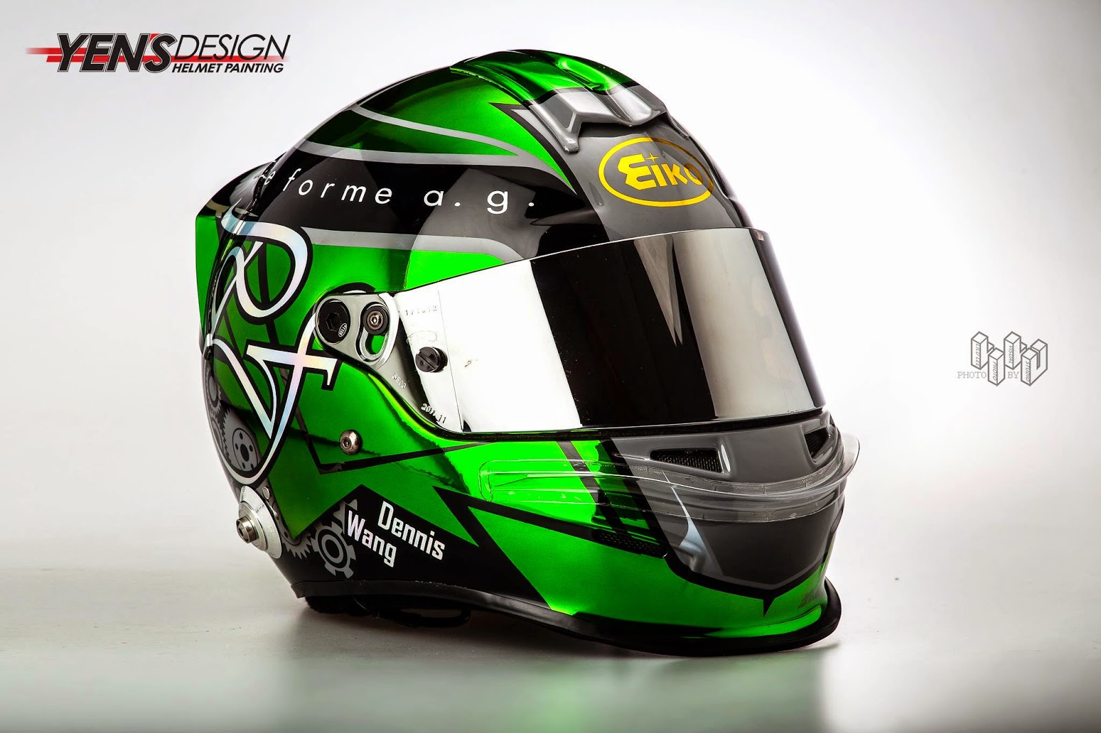 24ef5479 Racing Helmets Garage: Bell RS3 Pro D.Wang 2014 by Yen's Design ...