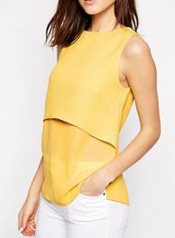 cute yellow top