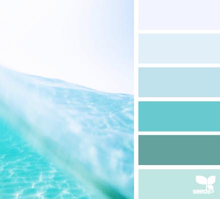 tonos de azules