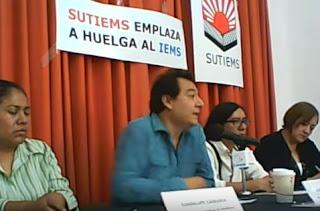 Videoconferencia de prensa SUTIEMS