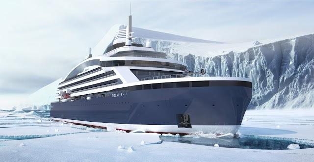 Arctic lng cruise vessel for Ponant