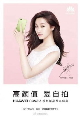 Huawei Nova 2 e Nova 2 Plus Rumores e primeiras características