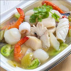 Resep Sop Sup seafood mudah