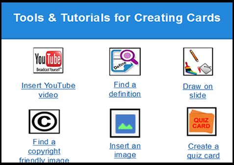 Build Vocabulary Cards with Google Presentation Cool Tools for - vocab cards