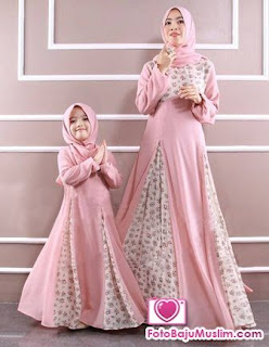 Desain Model Baju Muslim Anak Perempuan