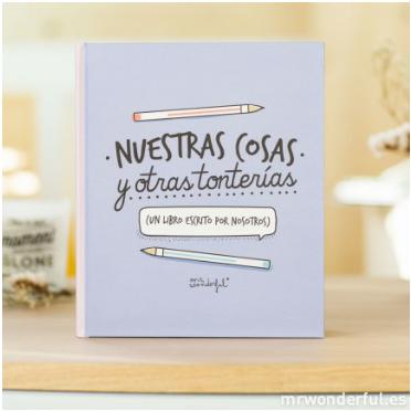 http://www.mrwonderfulshop.es/es/libro-nuestras-cosas-y-otras-tonterias.html