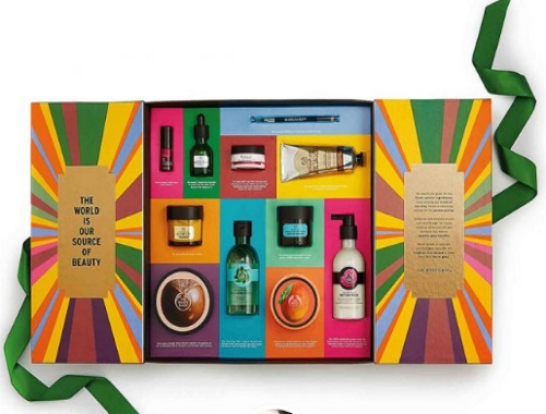 Best of The Body Shop Holiday Gift Set Contest