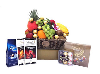 Fruit Basket + Chocolates