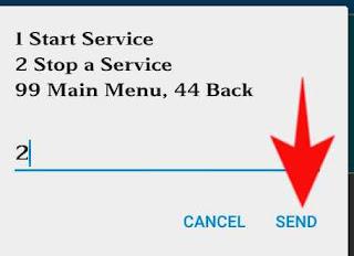 airtel me start service ko deactivate kese kare 4