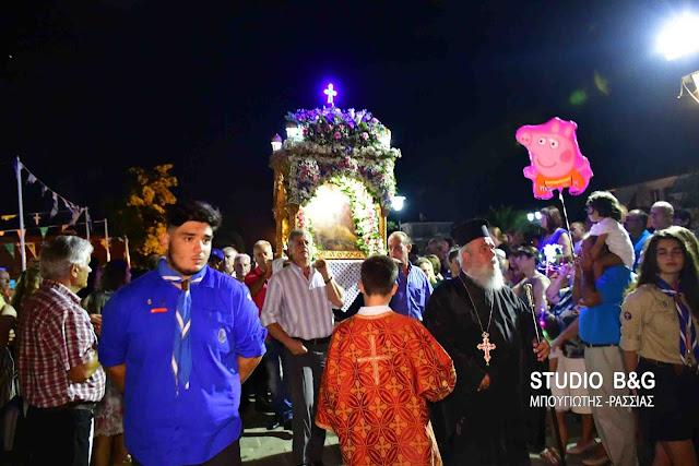 Η Νέα Κίος γιορτάζει την Παναγία την Θεομάνα (βίντεο)