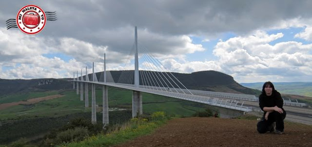 Viaducto de Millau, Francia