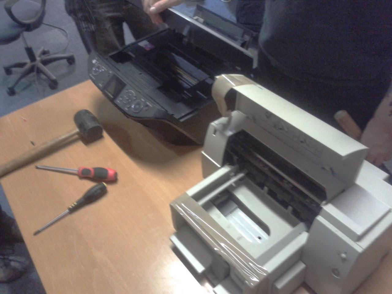 Nerd Club Inkjet Printer Teardown Get At Those Stepper