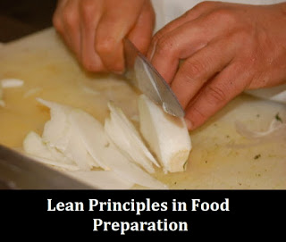 lean principles in food preparation