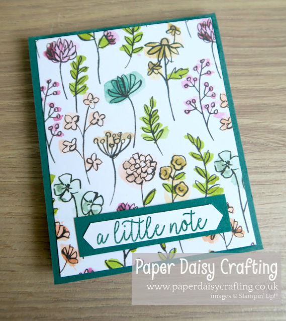Stampin Up Project share Nigezza creates & Paper Daisy Crafting