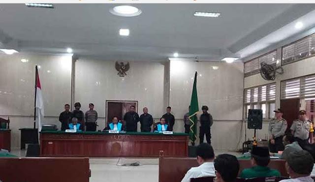 Sidang putusan gugagan JR Saragih di PTTUN Medan (27/3/2018)