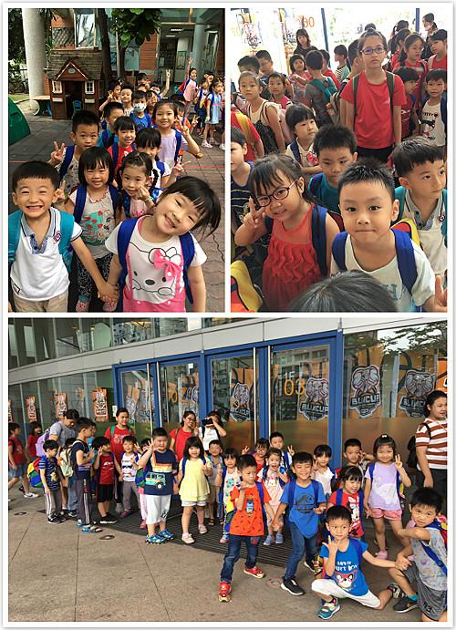童心園幼兒園孩子排好排滿,生活禮儀一級棒!