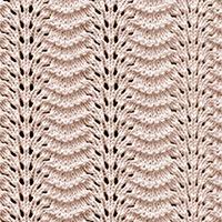 Old Shale Eyelet Lace 91 | Knitting Stitch Patterns.