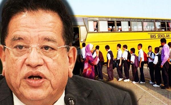 Bas sekolah percuma, bas sekolah wilayah persekutuan, DBKL, Bantuan bas sekolah, bantuan DBKL