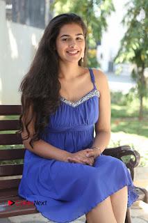 Actress Prasanna Stills in Blue Short Dress at Inkenti Nuvve Cheppu Movie Platinum Disc Function  0110.JPG