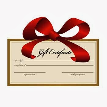 ask roxy i want to sell gift certificates at my new business any