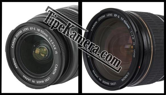 Kode pada lensa Canon