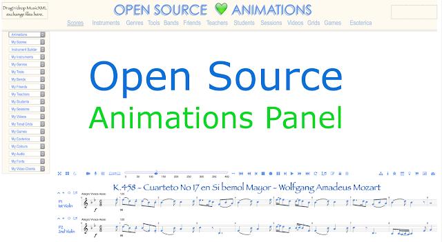 Music Visualisation Aggregator Platform Open Source Animation Panel. #VisualFutureOfMusic #WorldMusicInstrumentsAndTheory