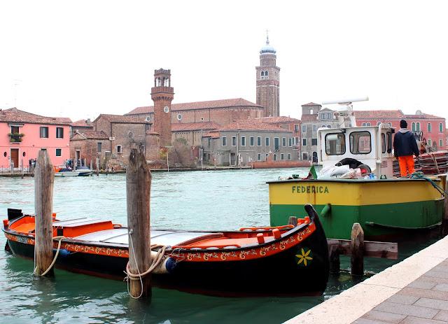 Qué ver en Murano. Fábricas de cristal de Murano. Canales de Murano